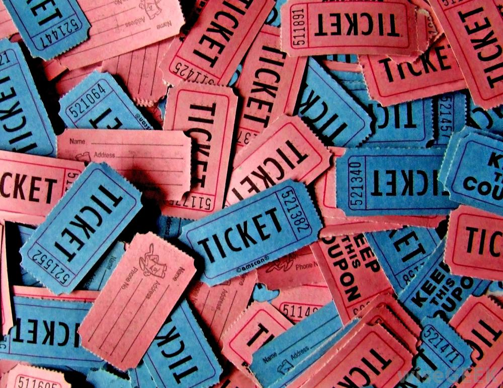 Raffle Tickets ISPE Boston Product Show